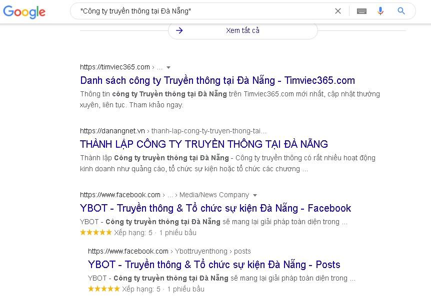 Hướng dẫn tìm kiếm nâng cao trên Google
